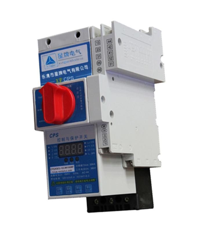 主要参数说明 两个外形安装尺寸:125型(D框架)和45型(C框架) 主电路极数分为:三极、四极 XPCPS控制与保护开关电器的基本配置:主体+智能控制器+辅助触头组 主体由主电路基本模块即:触头系统模块、短路脱扣器、电磁系统模块以及操作机构系统模块构成 短路分断能力等级:经济型(C)为35KA,标准型(Y)50KA,高分断型(H)80KA。 预期短路电流下的分断时间为2~3ms,限流系数0.